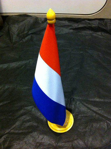 bandeira de mesa da holanda
