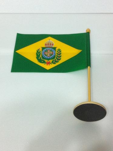 bandeira de mesa do brasil império