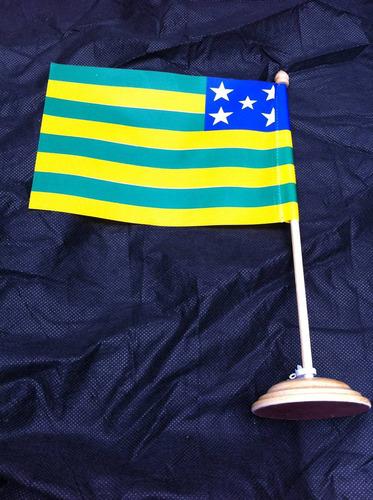 bandeira de mesa do estado de goiás