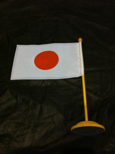 bandeira de mesa do japão