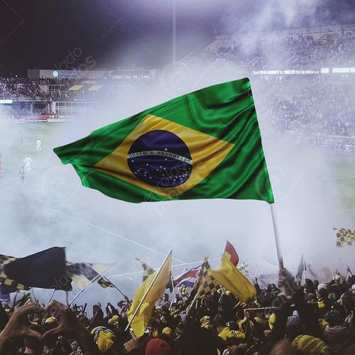 bandeira do brasil oficial em cetim 1,5m x 1m com acabamento