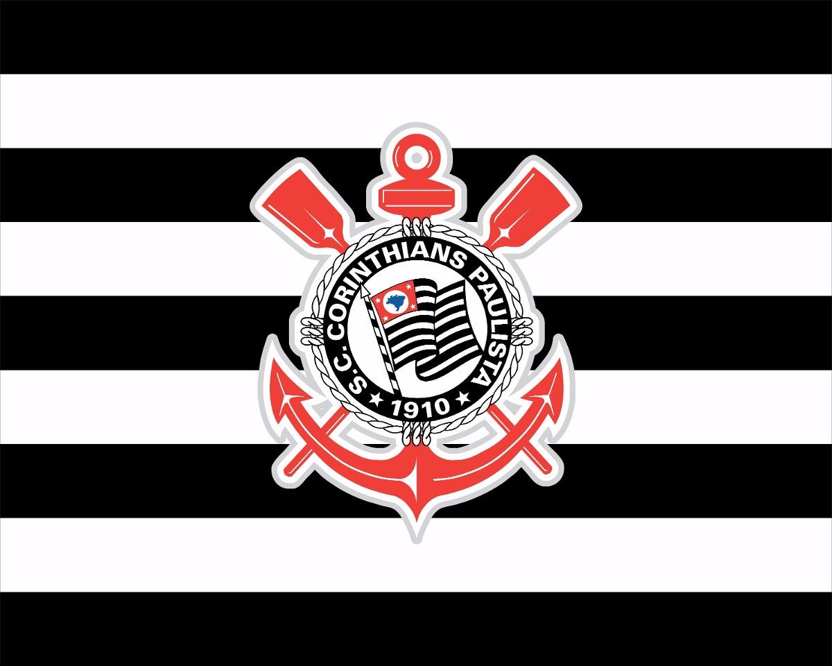 aff9e4c168 Descrição.  Corinthians  Timao Bandeira