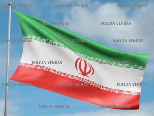 bandeira do irã cetim 1,50m x 0,90cm iran irão copa 2018