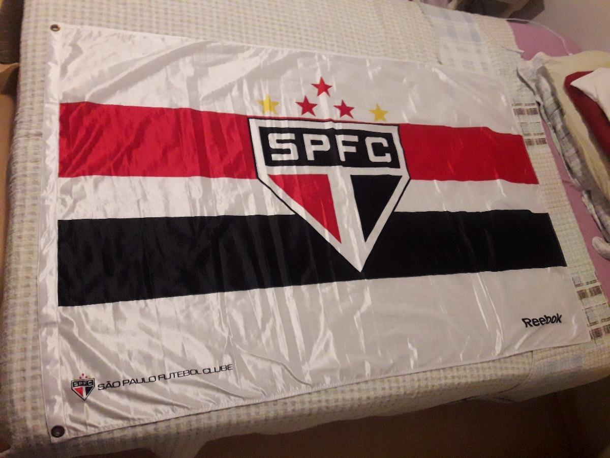 433174191beae Bandeira Do São Paulo Fc De Tecido, Original, Rebook - R$ 120,00 em ...