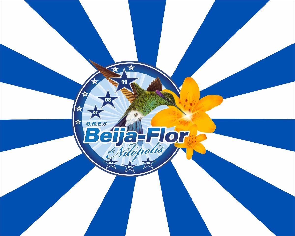Bandeira Gres Beija Flor De Nilopolis Bran Nq Np Do Brasil Suas Formas
