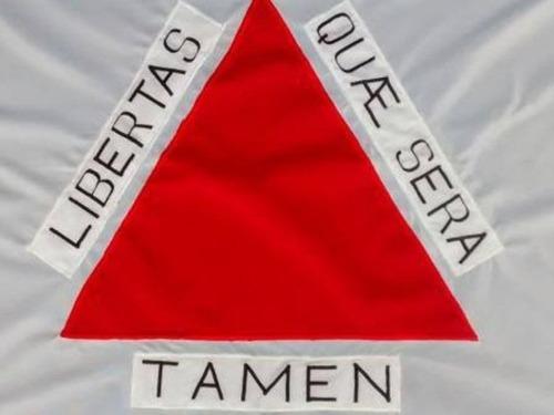 bandeira minas gerais oficial bordada 2 panos alta qualidade