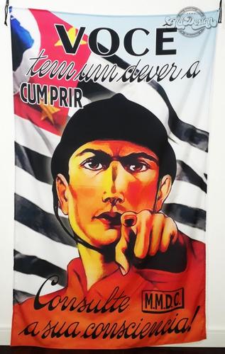 bandeira m.m.d.c 1932 são paulo revolução constitucionalista