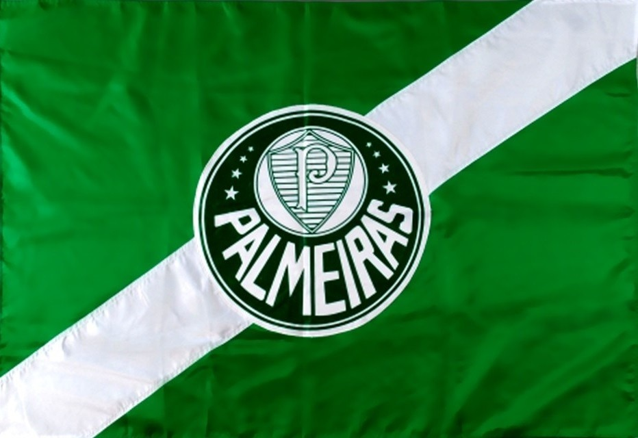 Bandeira Oficial Do Palmeiras 2 56 X 1 80 Distintivo 2