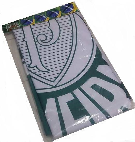 0ebd8ffcae Bandeira Oficial Palmeiras 2.56 X 1.80 Distintivo 2 Lados - R  369 ...