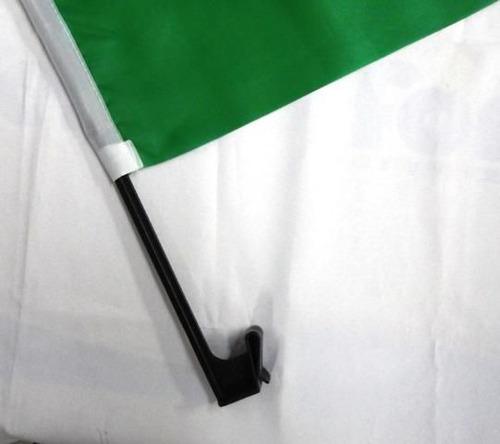 bandeira para encaixe no vidro - kit com 10 unidades