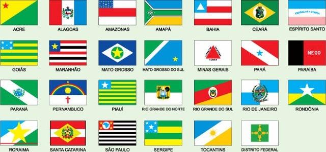 7de0b20a46 Bandeira Todos Os 27 Estados Brasileiros 1