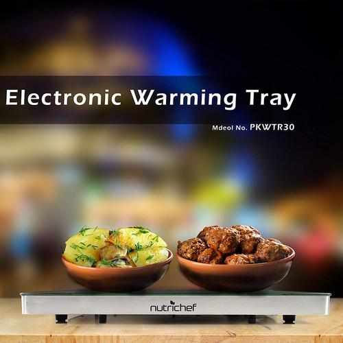 bandeja calentamiento eléctrico nutrichef , calentador alim