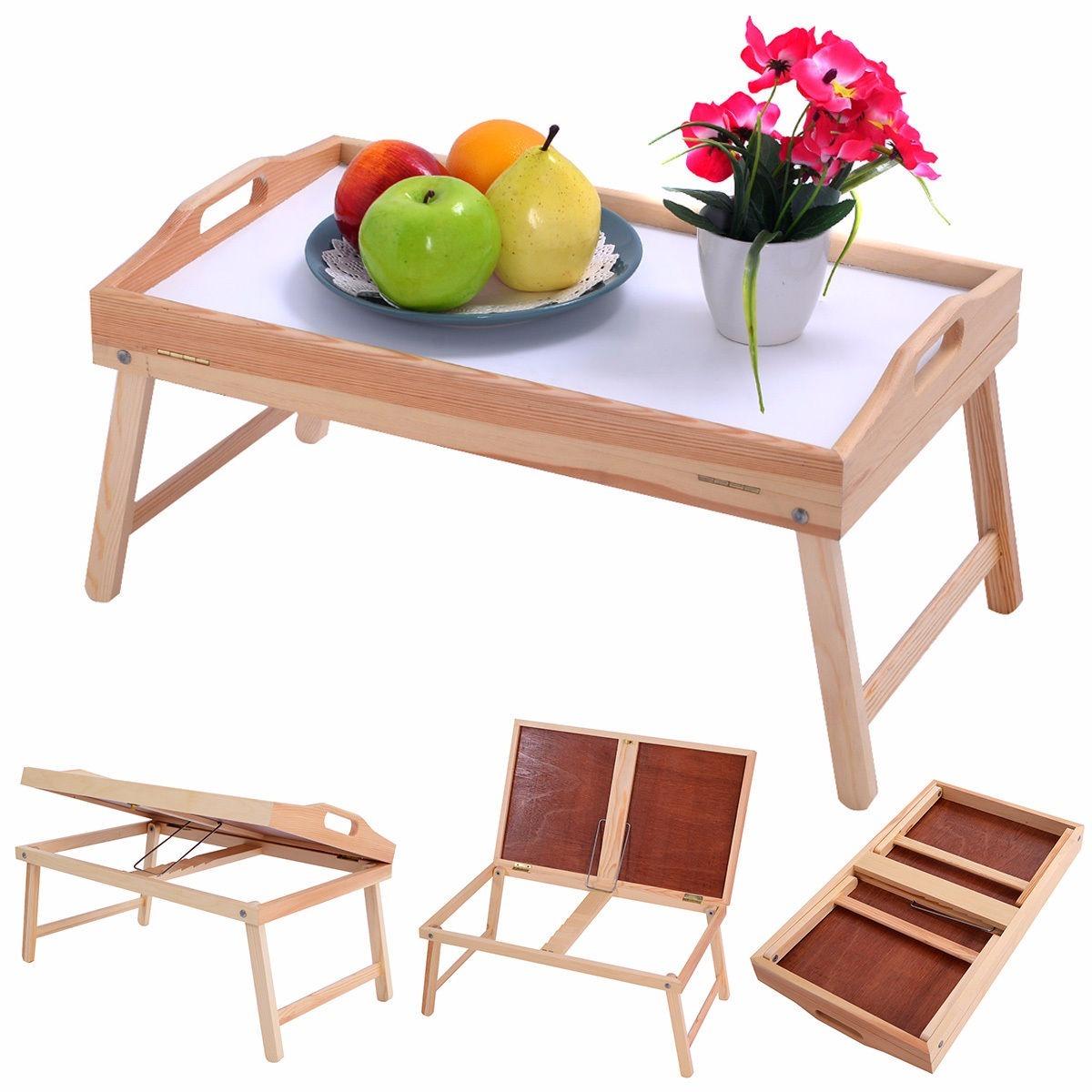 Bandeja charola mesa plegable para desayuno en la cama 1 en mercado libre - Bandeja desayuno cama ...