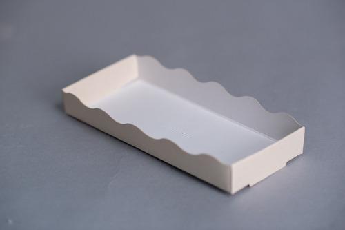 bandeja chica 20x8,7x2,8 cm (x50 u) - 098 bauletto