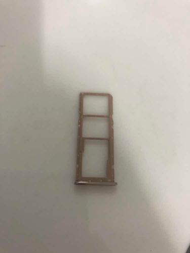 bandeja chip a7 (2018) a750 gaveta micro sd dourado origi