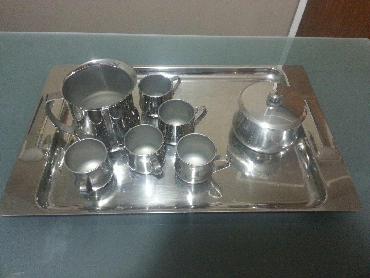 Bandeja con jarra azucarero y tazas rena ware 100 for Precios de utensilios de cocina rena ware