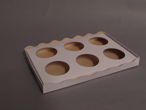 bandeja cupcake 6 vasos take away delivery (x50u) - 010