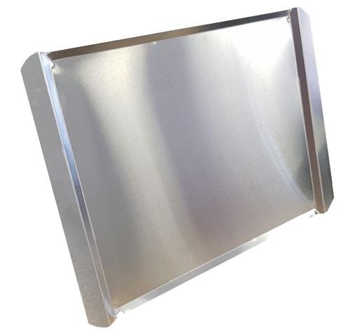 bandeja de aluminio plana espesor 1 mm 44 x 32 cm beta 21