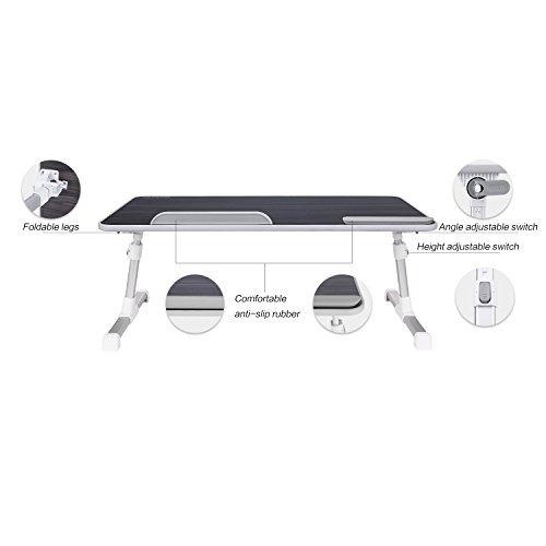 bandeja de cama portátil mesa plegable para cama portátil