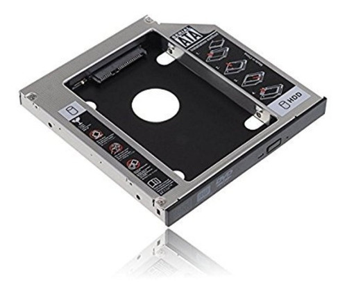 bandeja de disco duro sata hdd/ssd sata 3 lectora cd 12.7mm