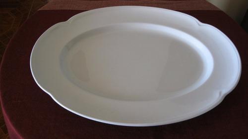 bandeja de porcelana johnson bros england colección greydawn
