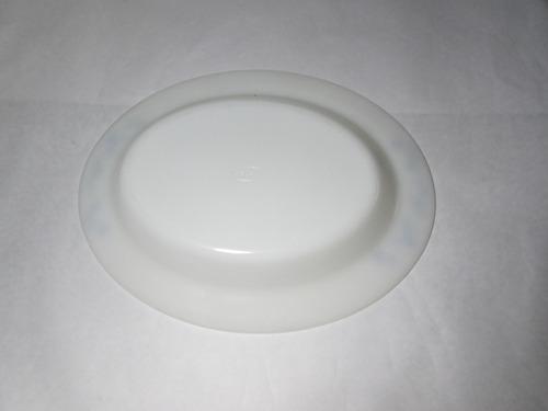bandeja de vidrio blanco marca rigopal