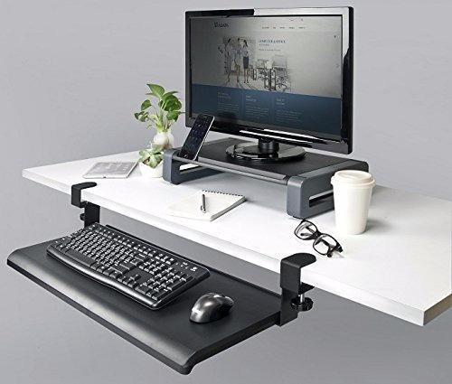 bandeja deslizable porta teclado mouse escritorio mesa pc