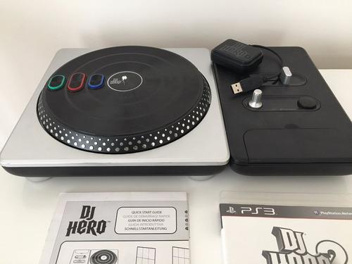 bandeja dj hero playstation 3