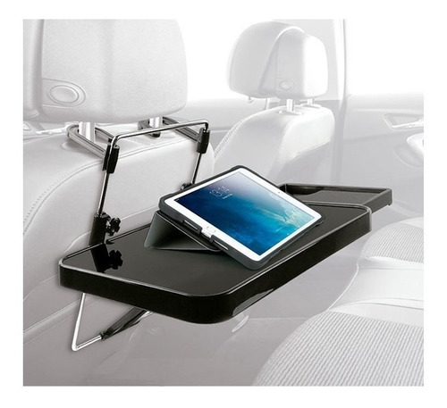 bandeja doble multiuso plegable al auto asiento o volante d1