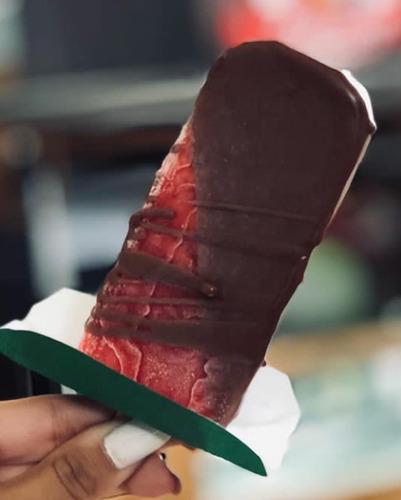 bandeja ecologica porta paleta papel  300xpaquete helados