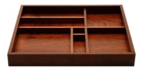 bandeja em madeira organizadora café cha buffet cozinha bar
