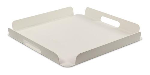 bandeja funcional de aluminio blanco ext / int - prestigio