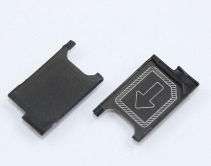 bandeja gaveta chip sim sony xperia z3 mini compacto m55w