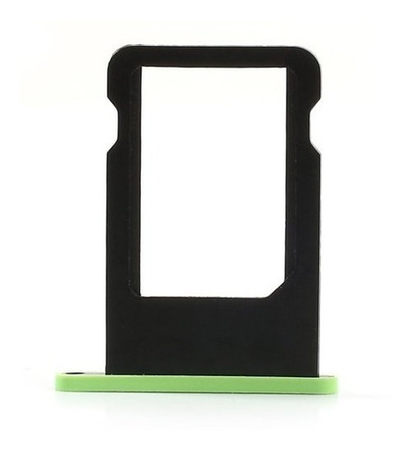 bandeja gaveta tray sim chip iphone 5c- varias cores