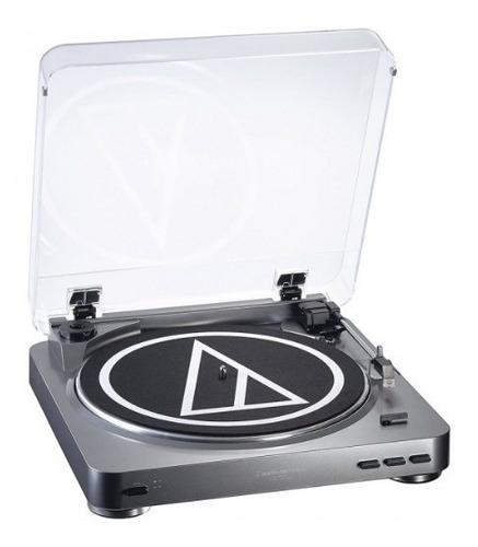 bandeja giradiscos audio technica lp60 usb grabadora vinilo
