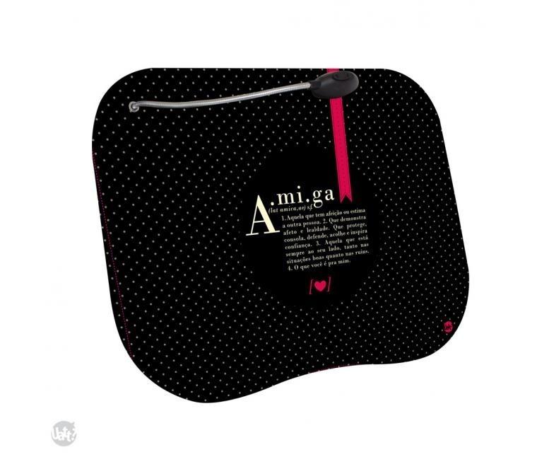 6bce915c28542f Bandeja Laptop Led - Dicionário De Amiga - Uatt