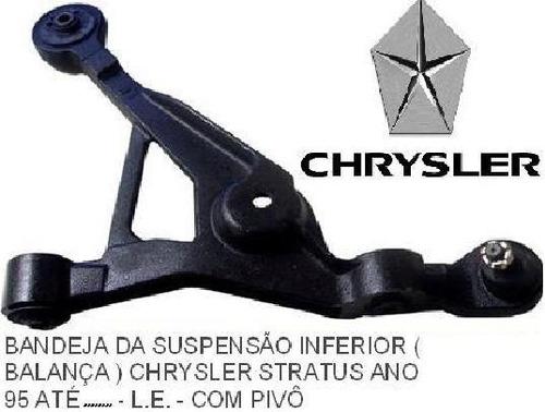 bandeja (leque/balança) chrysler stratus 95 até 05 original