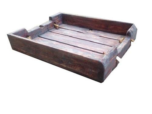 bandeja llaria 60x40x8 madera reciclada pantano pallet bar