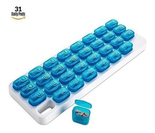bandeja mensual de píldoras de 31 días bandeja de salida di