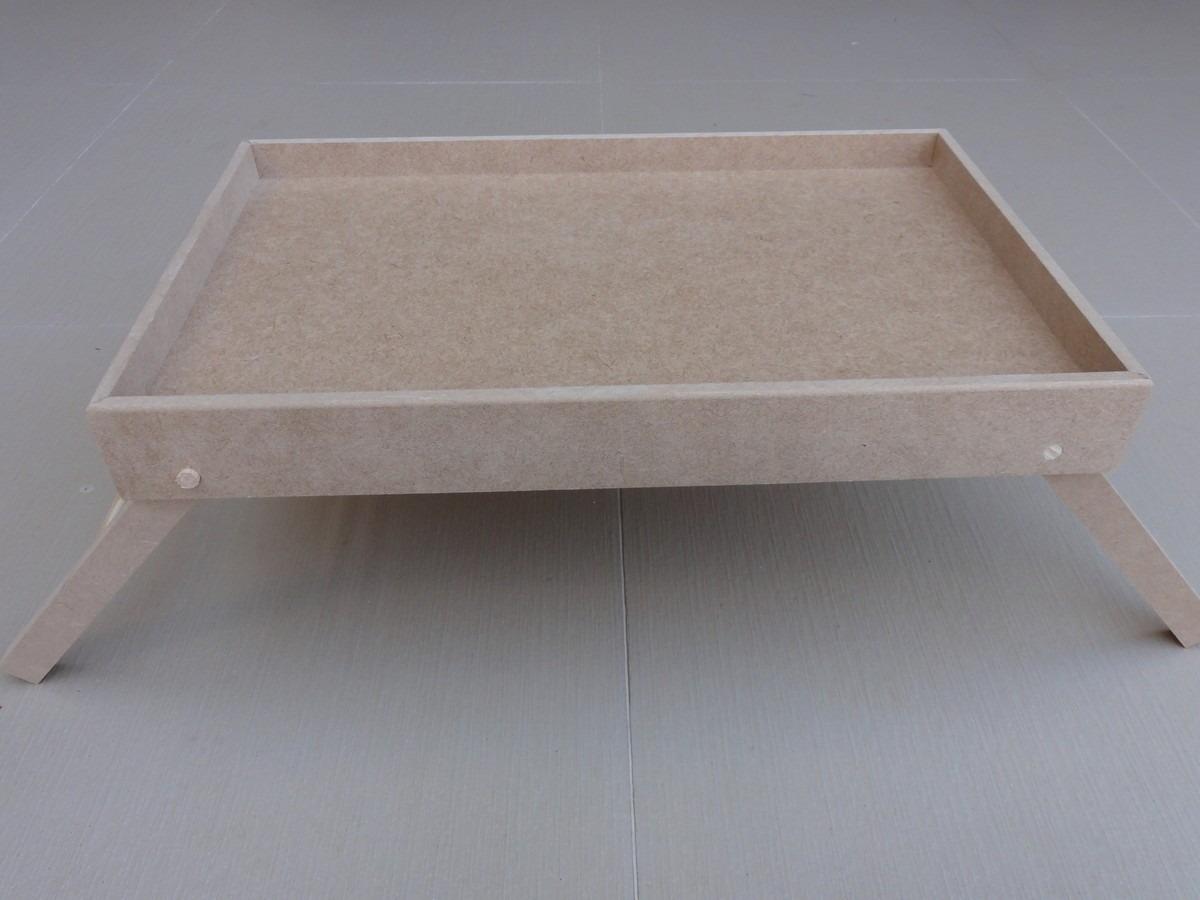 Bandeja mesa de cama com pezinhos caf da manh dobr vel r 18 50 em mercado livre - Mesa para cama ...