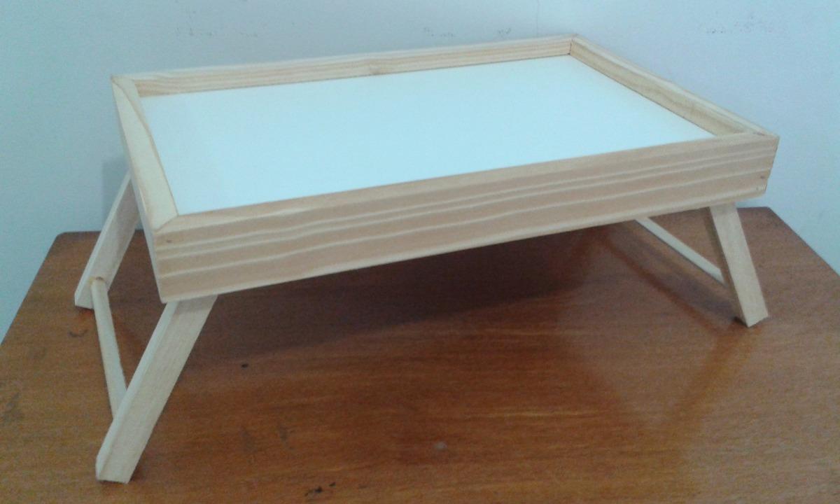 Bandeja mesa para caf na cama sof poltrona lanche comida r 58 99 em mercado livre - Mesa para cama ...