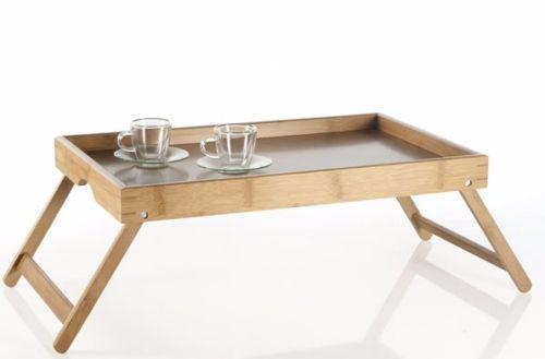 Bandeja mesa plegable para comer cama enfermo oferta for Mesa para comer en la cama