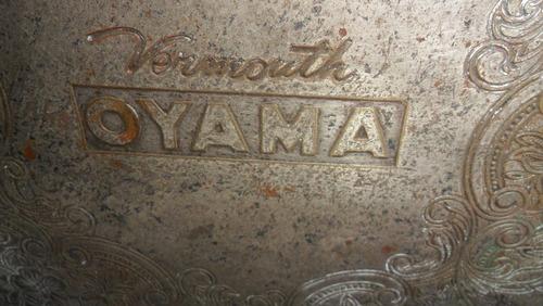 bandeja metalica - publicidad oyama
