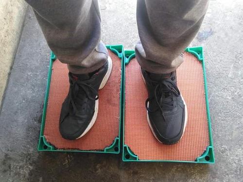 bandeja pará desinfección de calzados 2x1 %100 garantizados