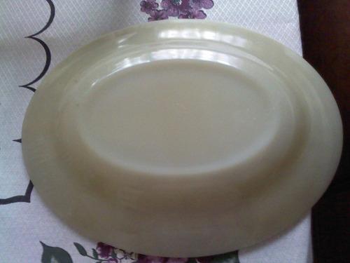bandeja para salada anos 80 - 40cm oval