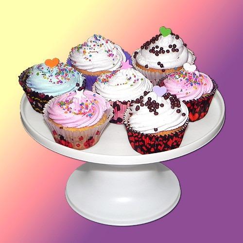 bandeja pie posa cupcakes de 1 piso parpen