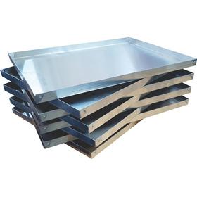 Bandeja Placa Aluminio 30x40x2 Alto Remachada Medialunas M-p