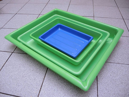 bandeja plastica - cubeta fotografico laboratorio 46x56