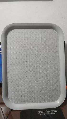 bandeja plástica grande (35x47)transporte en restaurante x10