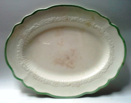 bandeja porcelana old staffordshire johnson bros.